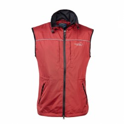 Jumper Vest Women Red