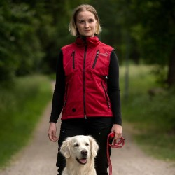 Acadia Softshell Vest Red...