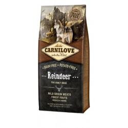 CARNILOVE Reindeer Adult...