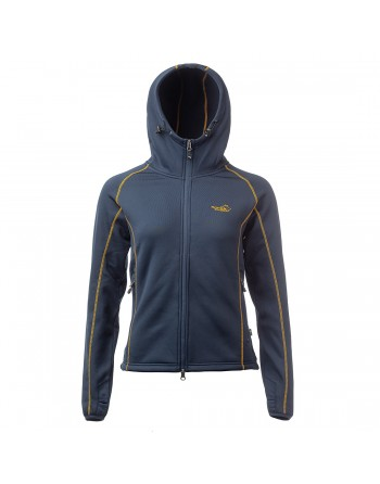 Power Fleece Woman Navy