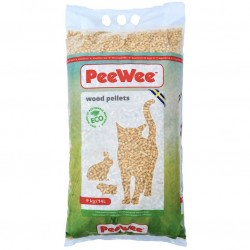 PeeWee Cat Wood Pellets 3x14L