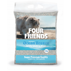 Four Friends cat litter...