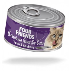 FourFriends cat can...