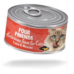 Four Friends cat can...