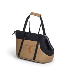 "Transporter ""Bag"" black brown"