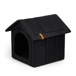 "Bed ""Home"" black"